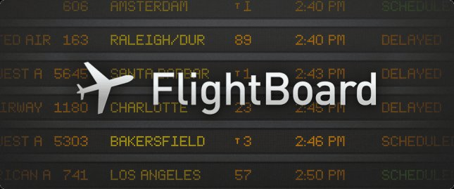 Программы для планшета - Flightboard