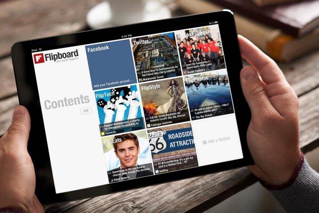 Программы для планшета - Flipboard