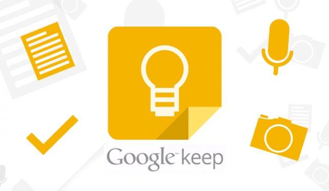 Программы для планшета - Google Keep