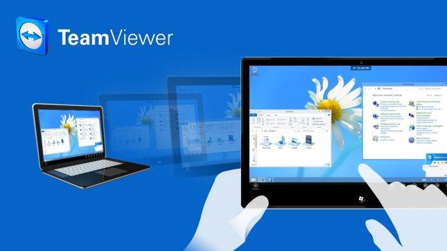 Программы для планшета - Team Viewer