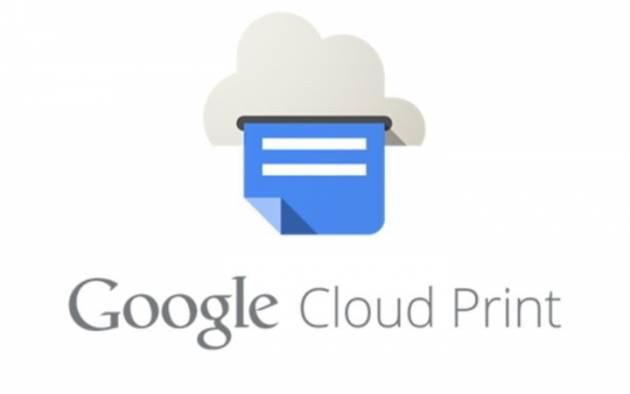 Печать фотографии с планшета - Google Print