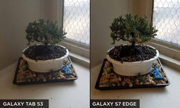 Пример фотографии Galaxy Tab S3