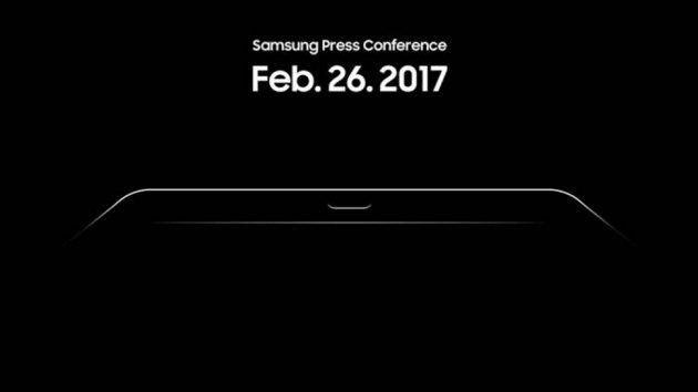 Тизер Samsung Galaxy Tab S3