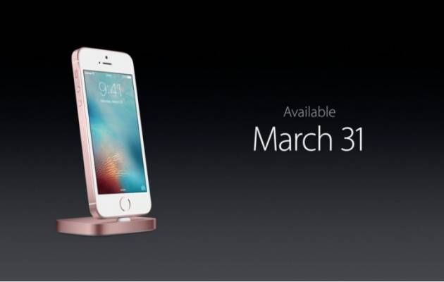 Дата выхода iPhone SE 128GB