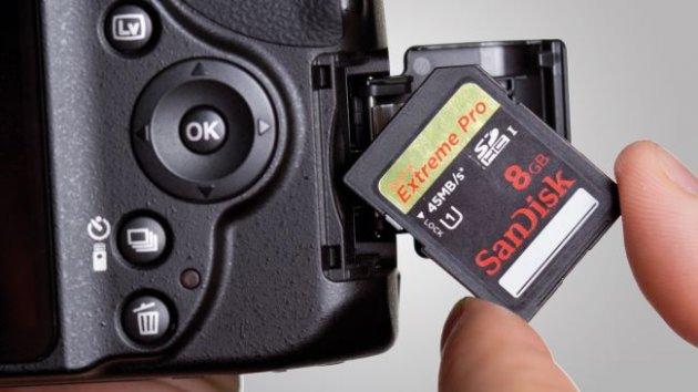 Карта памяти для фотоаппарата