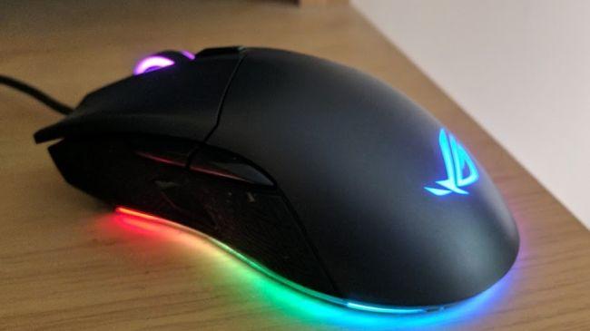 Лучшая игровая мышь - Asus ROG Gladius II