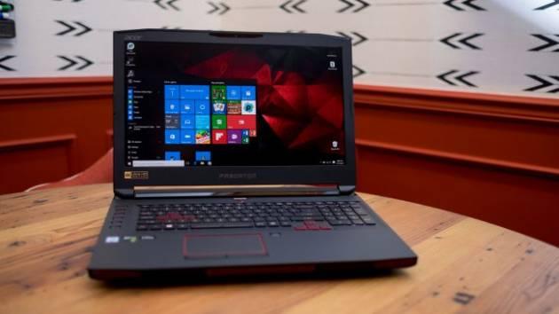 Лучший игровой ноутбук 2017 - Acer Predator 17 X