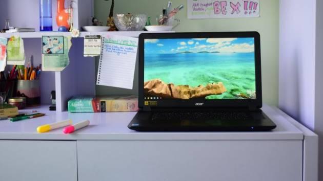 Лучший ноутбук для учебы - Acer Chromebook 15