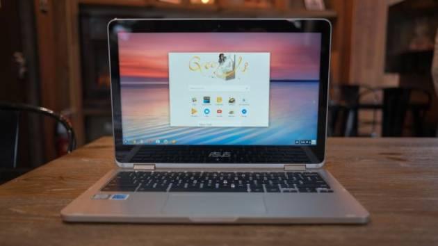Лучший ноутбук 2017 - Asus Chromebook Flip
