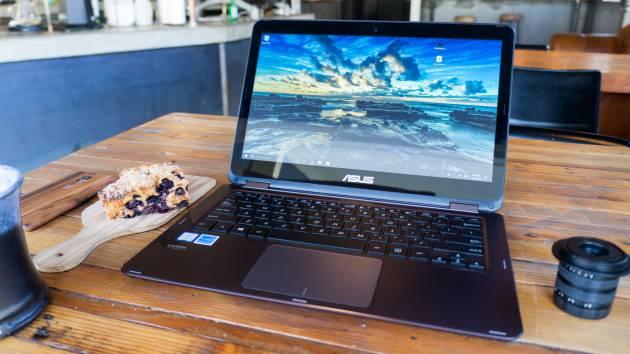Лучший ноутбук 2017 - Asus ZenBook Flip UX360