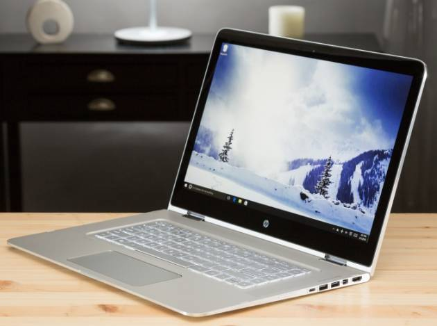 Лучший ноутбук 2017 - HP Spectre x360 15