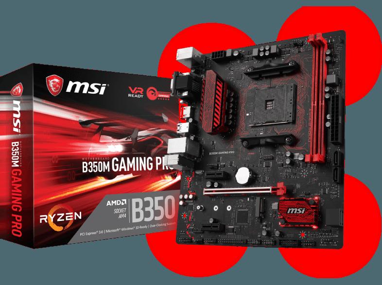 Материнская плата MSI B350M Gaming Pro AMD B350 Micro ATX