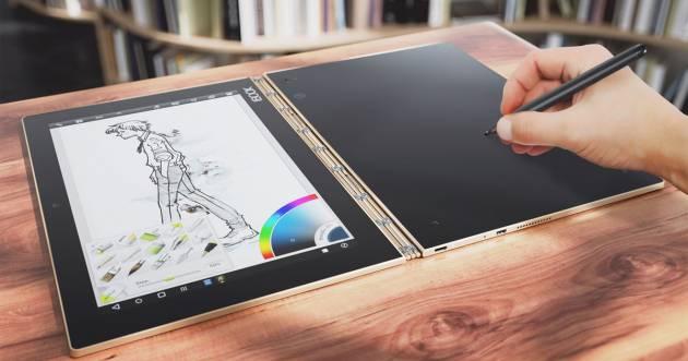 Планшет для рисования Lenovo Yoga Book