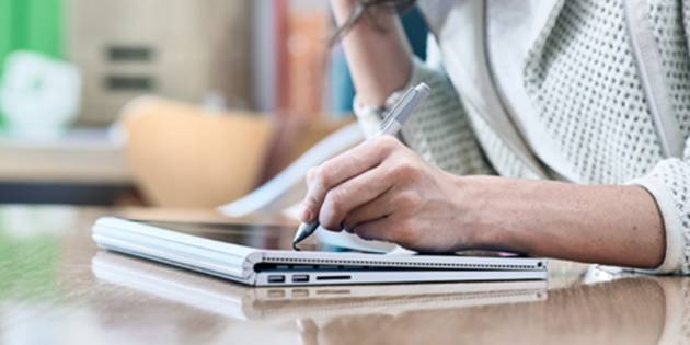 Планшет для рисования Microsoft Surface Book