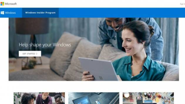 Программа Windows Insider