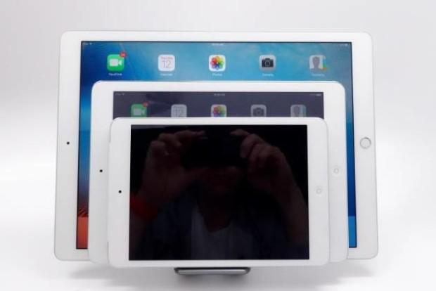 Разные модели планшетов iPad Pro