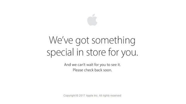 Apple Store на техобслуживании