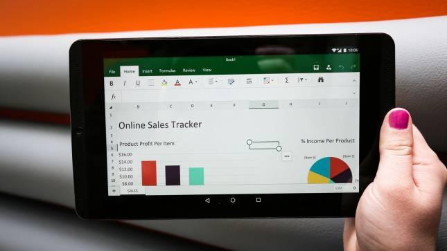 Office 365 на планшете