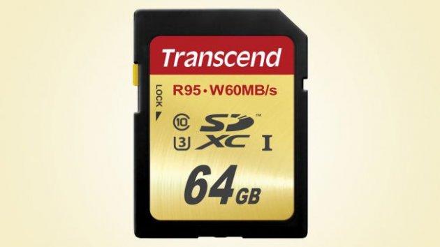 Transcend SDXC UHS-I U3 64GB