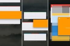 Интерфейс Fuchsia OS от Google