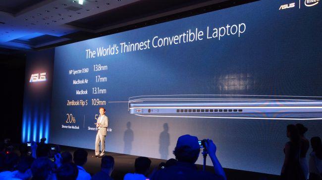 Презентация ASUS ZenBook Flip S UX370