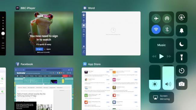 Интерфейс iPad Pro 12.9 (2017)
