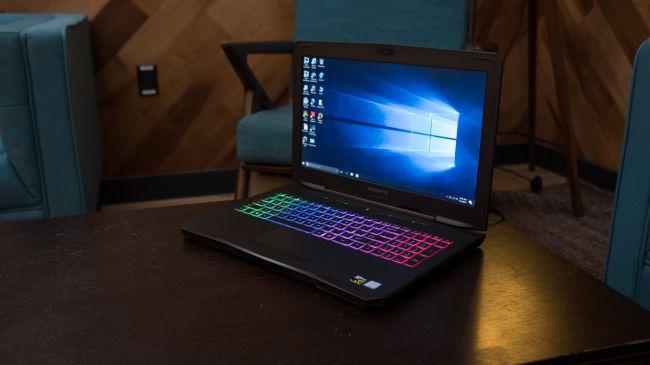 Игровой ноутбук Gigabyte SabrePro 15