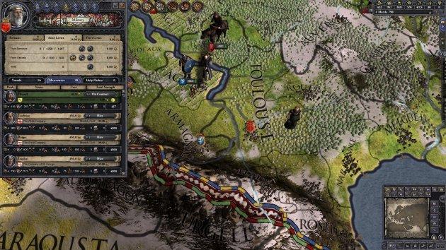 Лучшие игры для ноутбуков - Crusader Kings II