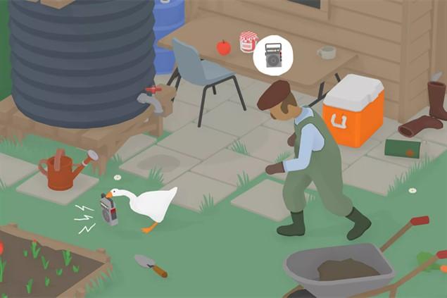 Лучшие игры для ноутбуков - Untitled Goose Game