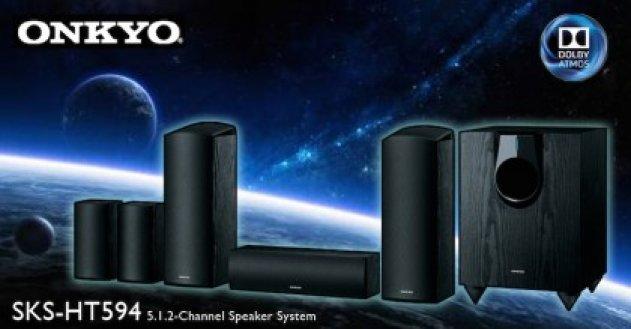 Объемный звук Onkyo SKS-HT594