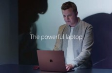 Реклама Microsoft Surface Laptop