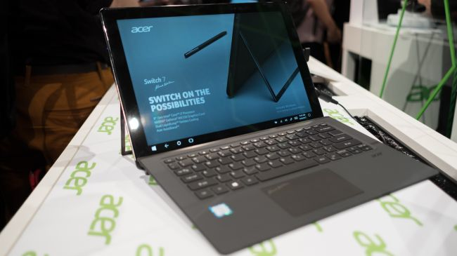 Планшет Acer Switch 7 Black Edition