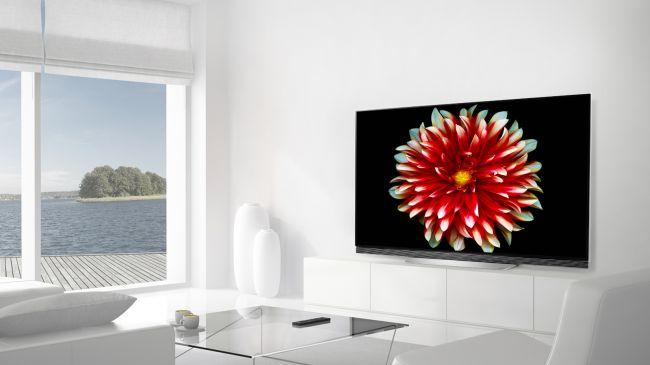 Лучший телевизор - LG OLEDE7 Series (2017)