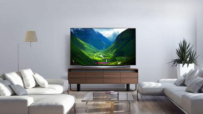 Лучший 4К телевизор - LG C8 OLED