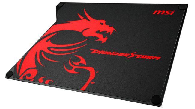 Лучший игровой коврик - MSI Thunderstorm