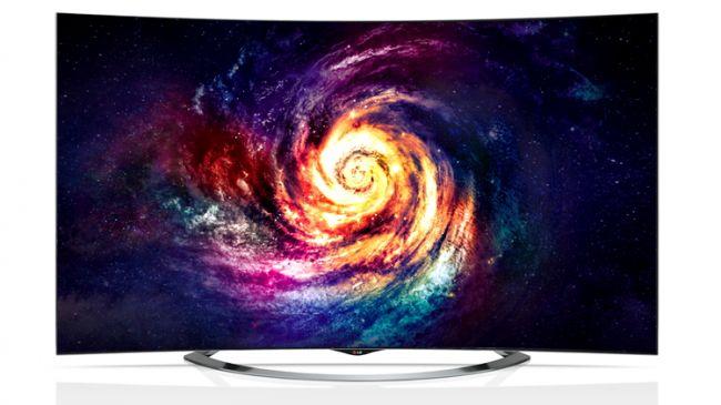 Изогнутый телевизор с разрешением 4К Ultra HD