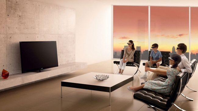 Локация вокруг телевизора