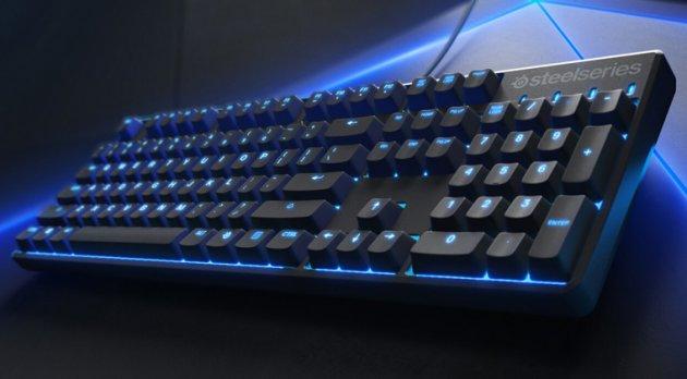 Лучшая игровая клавиатура - SteelSeries Apex M500