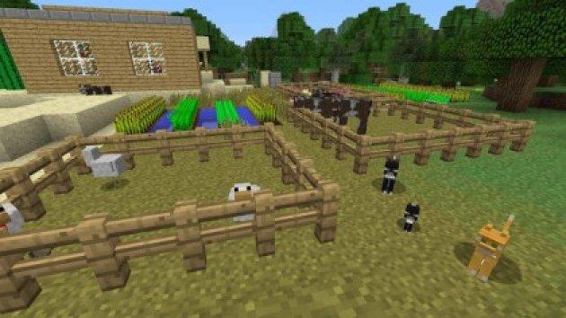 Лучшие игры для ноута - Minecraft