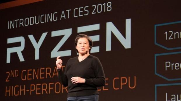 Второе поколение AMD Ryzen