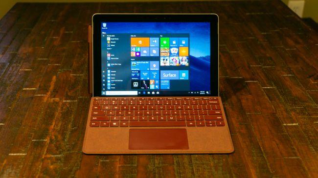 Лучший планшет для работы - Surface Go
