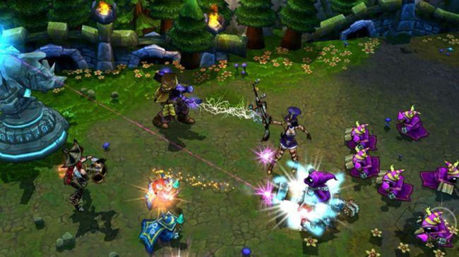 Бесплатная игра - League of Legends