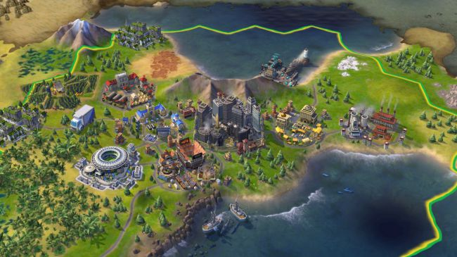 Игры на iPad - Civilization VI