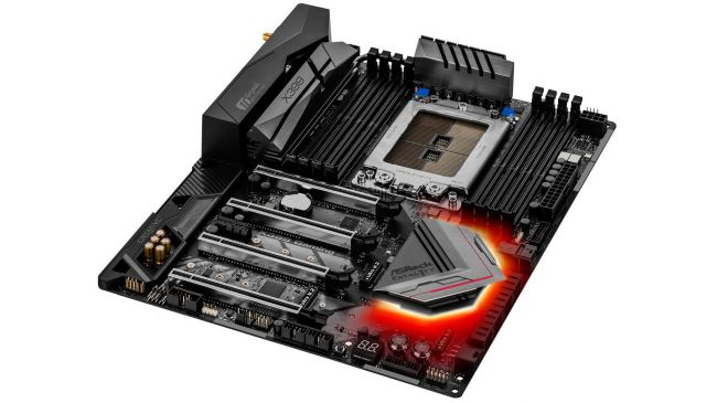 Лучшая материнская плата - ASRock X399 Professional Gaming sTR4