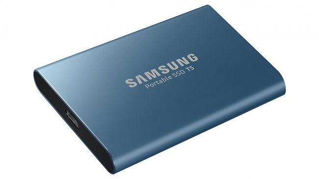 Лучший SSD - Samsung Portable SSD T5