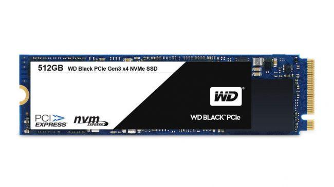 Лучший SSD - WD Black PCIe SSD