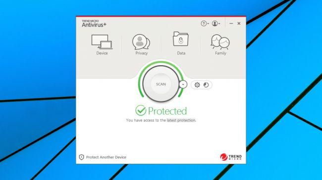 Лучший антивирус - Trend Micro Antivirus Security