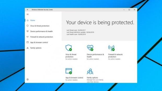 Обзор Windows Defender