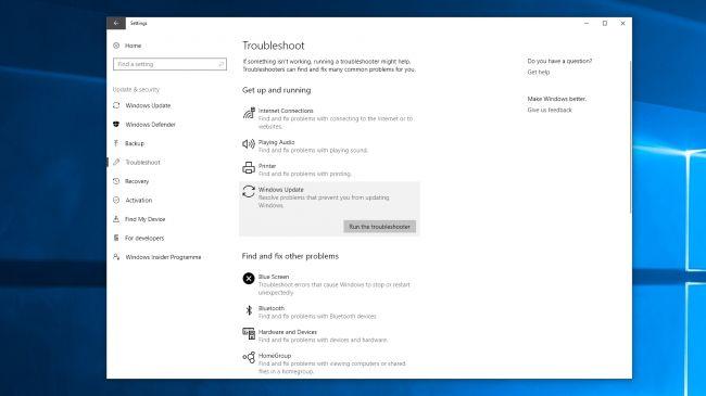 Освободить место для Windows 10