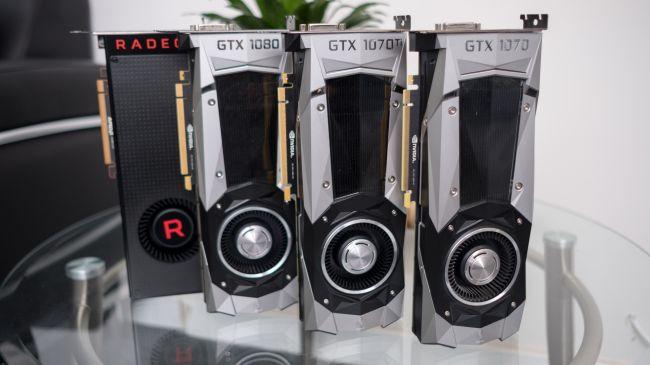 Флагманские видеокарты Nvidia и Radeon Vega
